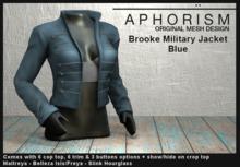 !APHORISM! - Brooke Military Jacket - Blue
