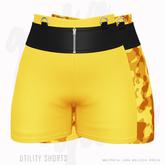 Gaia - Utility Shorts  YELLOW