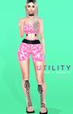 Gaia - Utility Shorts  FULLPACK