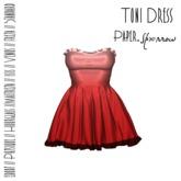 Paper.Sparrow - Strawberry - Toni Dress