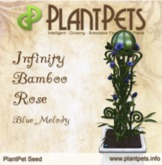 PlantPet Seed [Infinity Bamboo Rose *Blue Melody*] Updated