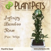 PlantPet Seed [Infinity Bamboo Rose *Pure White*] Updated