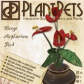 PlantPet Seed [Large Anthurium *Red*]