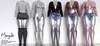 Mangula HUD [Unpack] Aika Set Body, Top, Skirt, Short [FATPACK]