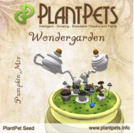 PlantPet Seed [Wondergarden *Pumpkin Mix*] Updated2019