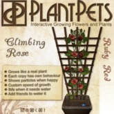 PlantPet Seed [Climbing Rose *Ruby Red*]
