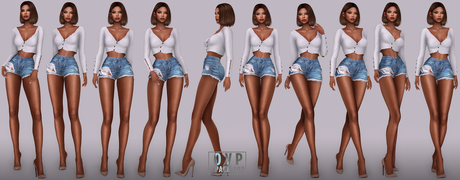 Overlow Poses - Pack 102