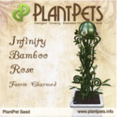 PlantPet Seed [Infinity Bamboo Rose *Faerie Charmed*]