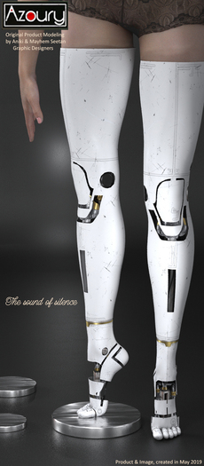 AZOURY - The Sound of Silence Robotic Leg