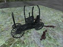Burned Wagon (no corpses)