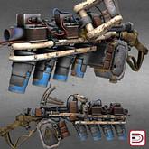 [Danielito] Steampunk Railgun