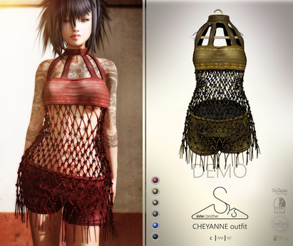 [sYs] CHEYANNE outfit (fitted & body mesh) - DEMO