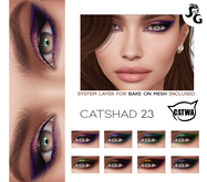 ::SG:: CatShad23 Shadow for CATWA HEAD and Bake on Mesh (BOM - Tattoo Layer)