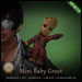 [C] Mini Baby Groot - Animesh (Shoulder Pet)