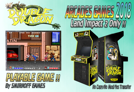 Second Life Marketplace Double Dragon Arcades Games 2018 Box