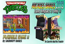 = Teenage Mutant Ninja Turtles = Arcades Games 2018 [BOX]