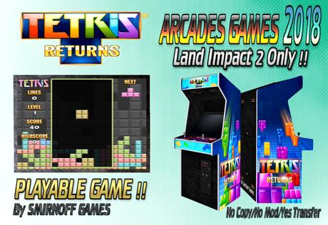 = Tetris Returns = Arcades Games 2018 [BOX]