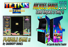 = Tetris Returns = Arcades Games 2018 [BOX]