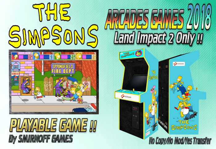 = The Simpsons = Arcades Games 2018 [BOX]