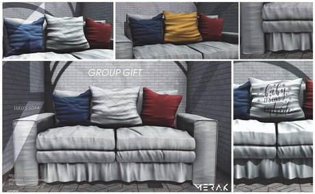 [Merak] - Lulu's Sofa GROUP GIFT