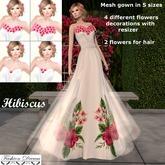 """Hibiscus"" Gown - Fashion Dream"