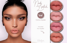 Violybee. Nude Lipstick (Catwa Applier)