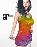 XK Maitreya Pride Tank Dress