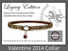 [Tethered] Legacy Edition - Valentine 2014 Gold - Collar & Leash Ring