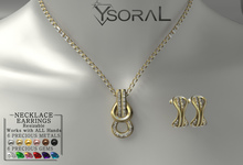 ~~ Ysoral ~~ .:Luxe Set Necklace & Earring Inesse:.