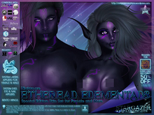 [Stargazer Creations] Skin Set - Ethereal Elementals - Nightmare