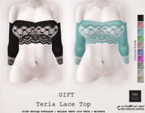 ===GIFT=== MH-Teria Lace Top Collection