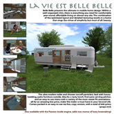 La Vie est Belle Belle - Travel Trailer / Mobile home - Belle Belle Furniture