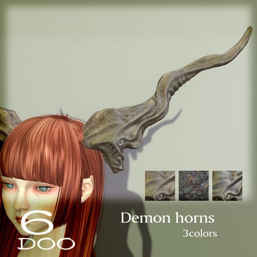 *6DOO* Demon horns