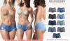 Blueberry - Yumi - Cheeky Shorts - Fat Pack