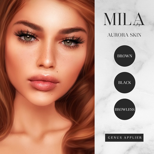 . MILA . Aurora Skin [Honey] GENUS