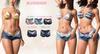 Blueberry -Sunny - Unzipped Shorts & Bikini Bottoms - Fat Pack