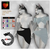 Apple Heart Inc. Jomo Taylor Outfit with Hud Dog