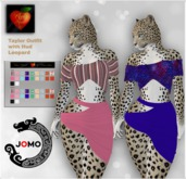 Apple Heart Inc. Jomo Taylor Outfit with Hud Leopard