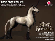 *CINNAMON* Teegle & Teeglepet - Silver Buckskin