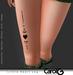 Little Heart Leg TaTToo [CAROL G]