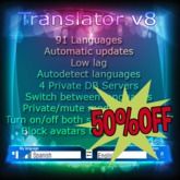 Translator v8 (50%OFF)