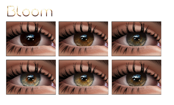 BLOOM - Eyes SOFIE Collection MESH-EYES/LELUTKA/CATWA Applier