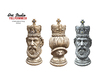 Art Studio.FULL PERM \\ Chess Piece King Statue