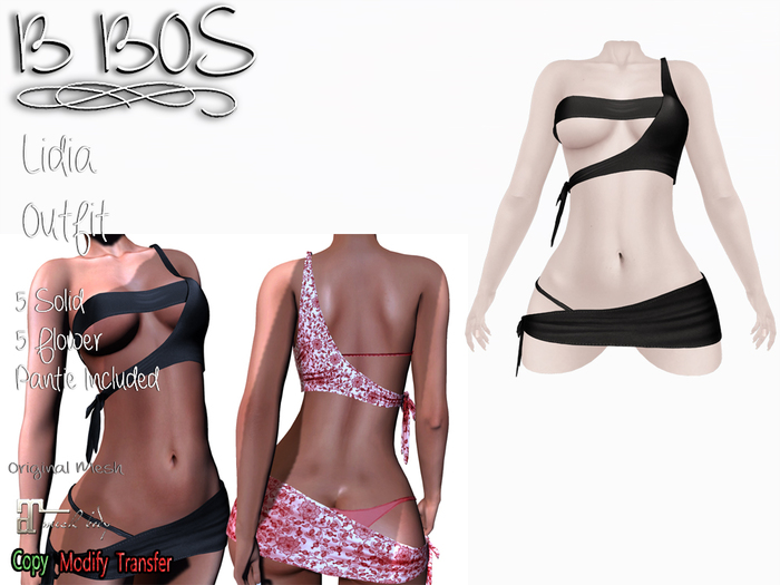 B BOS - Lidia Outfit - Black (Add me)