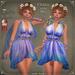 Flutter in the SKY Dress by Caverna Obscura - Maitreya, SLINK Physique, Belleza Freya