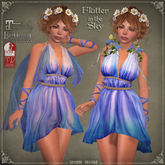 Flutter in the SKY Dress by Caverna Obscura - Maitreya, SLINK Physique, Belleza Freya