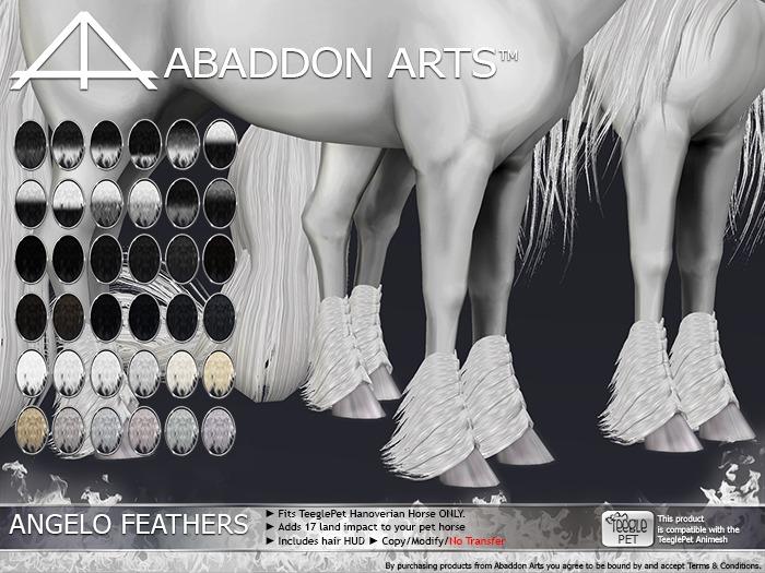ABADDON ARTS - Angelo Feathers LUXE [Teeglepet Hanoverian]