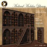 F&M * Medieval Modular Library - Bookcase bookshelf