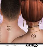 Love Infinity Unisex TaTToo [CAROL G]