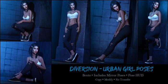 Diversion - Urban Girl Poses (Wear To Unpack)